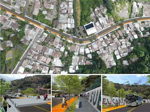 City building strategy, Curridabat, Costa Rica