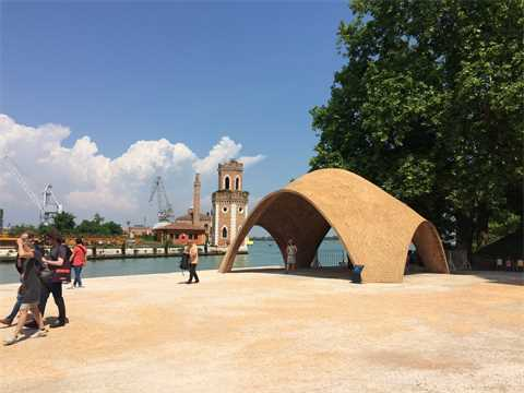 Norman Foster's Droneport stands test of time at the Arsenale in Venice