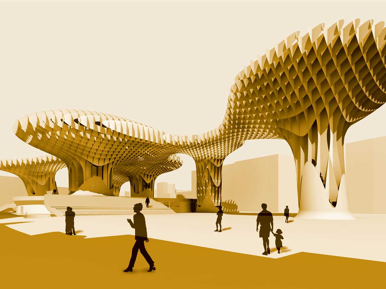 Holcim Awards Bronze 2005 Europe: Metropol Parasol, Spain