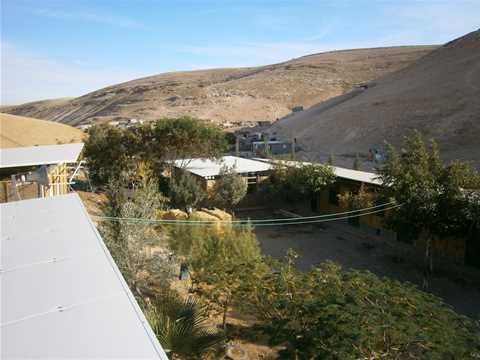 Project update 2012 - Sustainable refurbishment of a primary school, near Al Azarije, Palestine