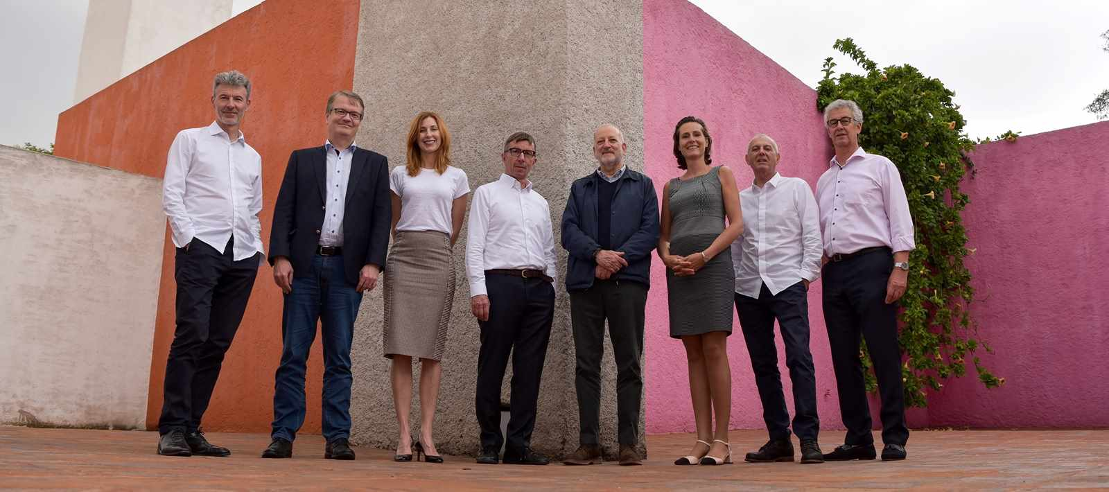 Board of the LafargeHolcim Foundation for Sustainable Construction (l-r): Stuart Smith, …