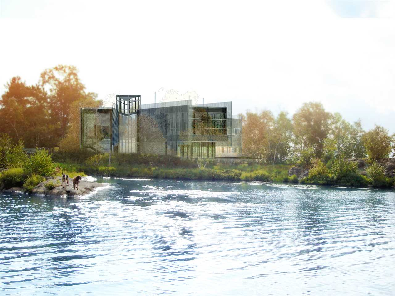 Holcim Awards Bronze 2008: Living with Lakes Center for freshwater restoration and research, …