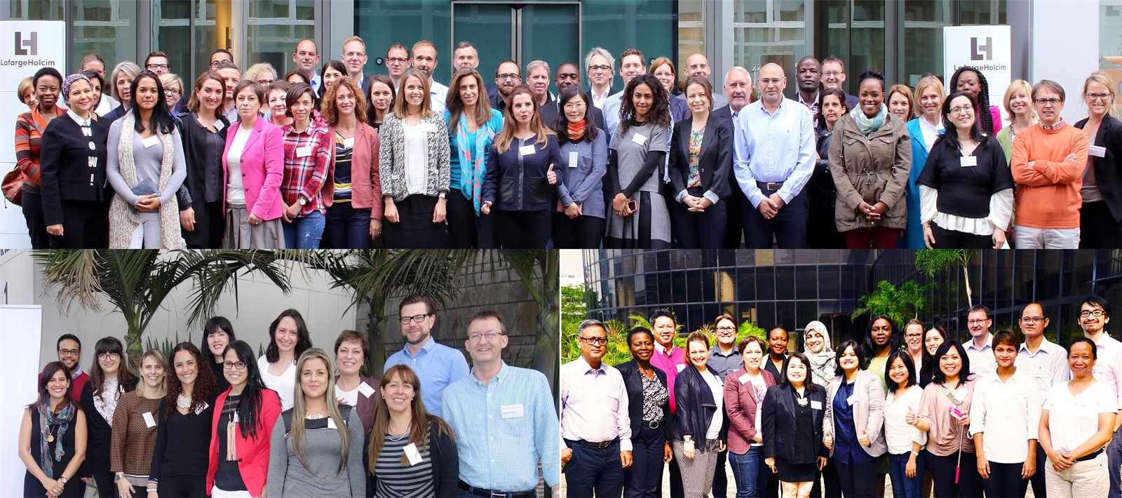 Workshops for Awards Coordinators were held in Zurich, Switzerland (top), Bogotá, Colombia …