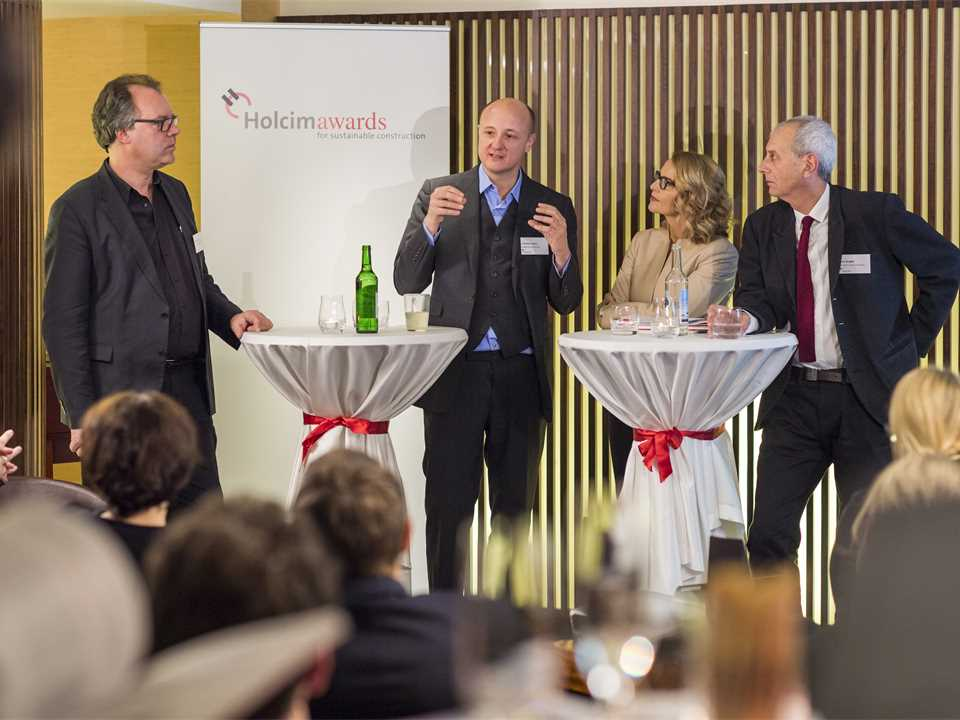 "Holcim Awards prize-winner reception for ""Circular voids"", Zurich, Switzerland – January 2015"