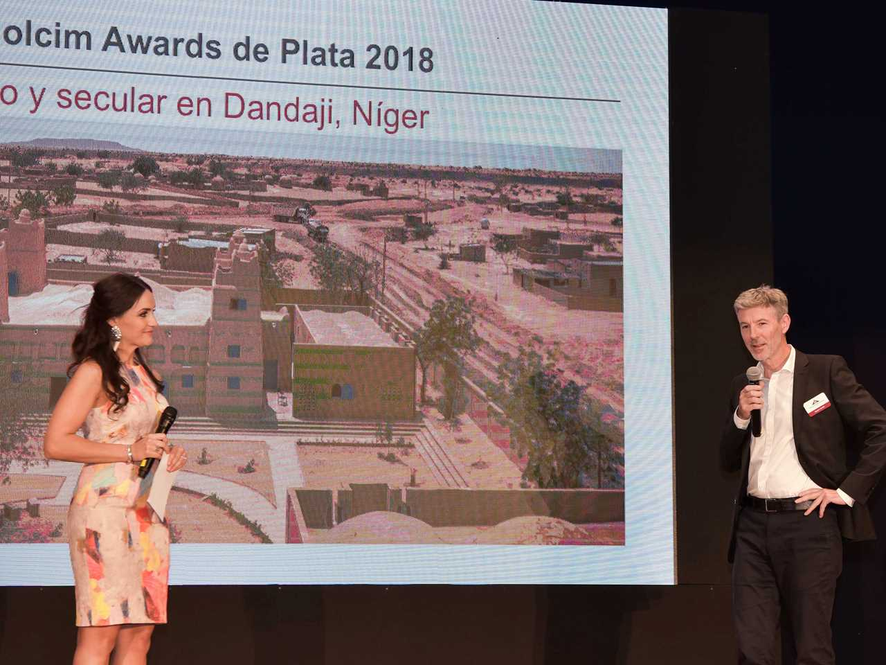 Global LafargeHolcim Awards 2018 prize handover
