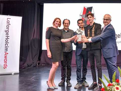 Holcim Argentina honors global Ideas prizewinners and hosts lectures by Angelo Bucci in ...