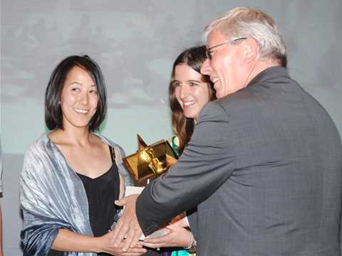 Global Holcim Awards Gold 2009 prize handover