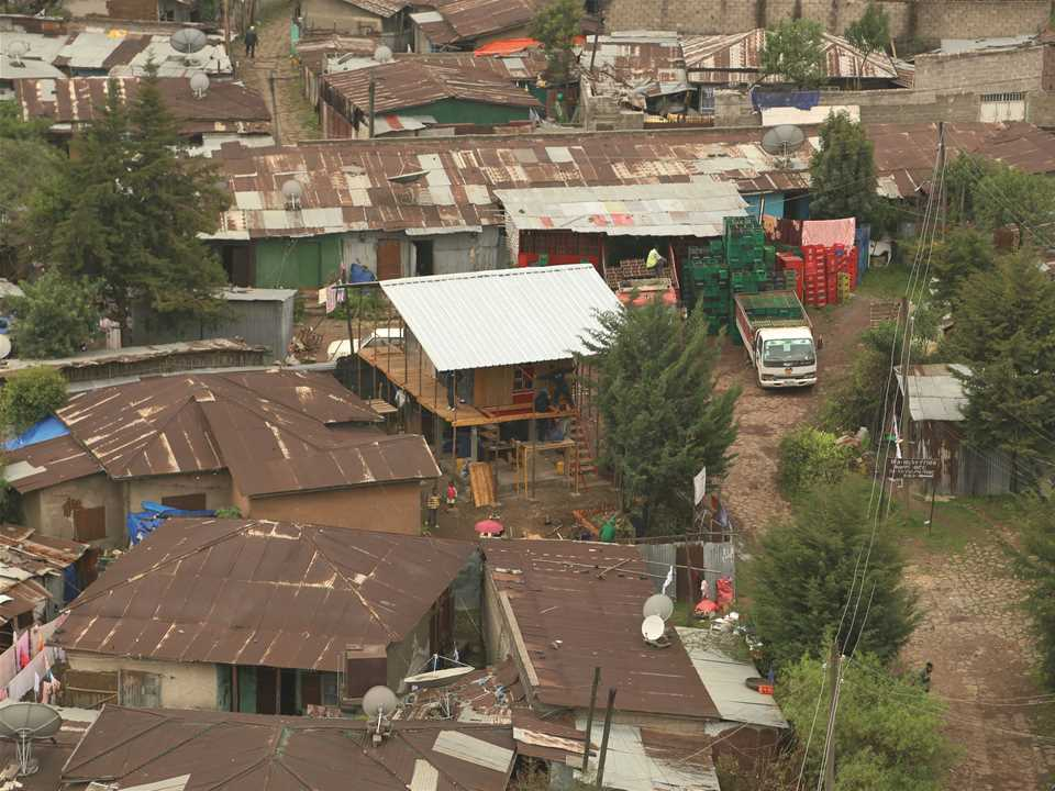 Incremental Construction: Low-cost modular housing scheme, Addis