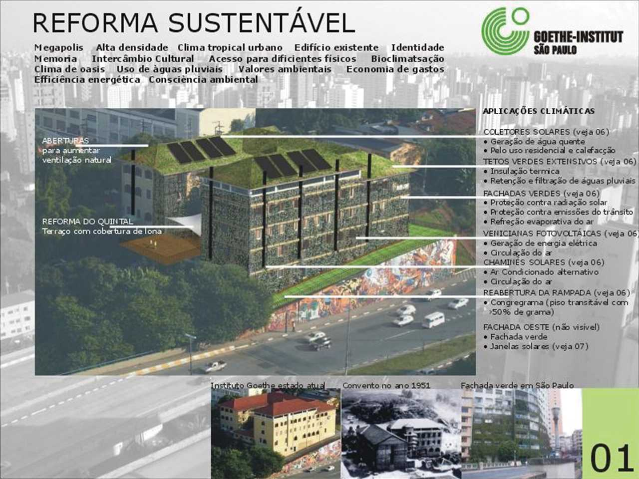 sustainable renovation of the goethe institute s o paulo