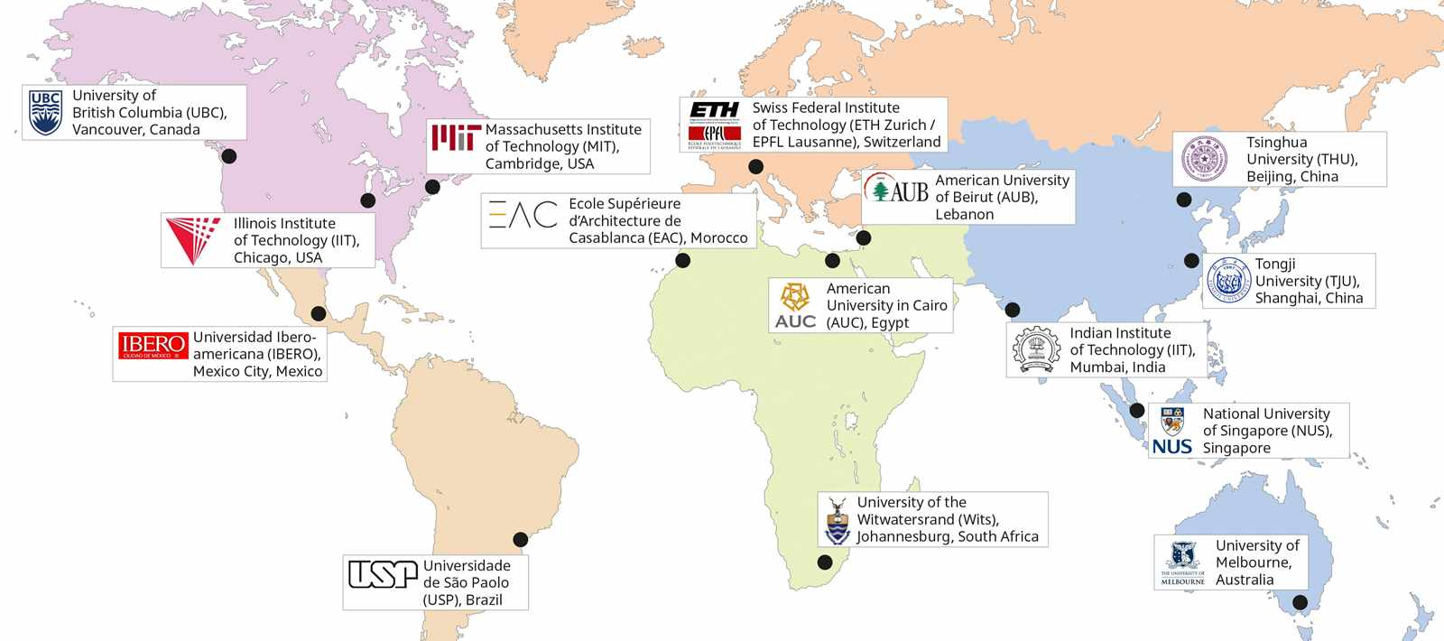 The Associated Universities of the LafargeHolcim Foundation.