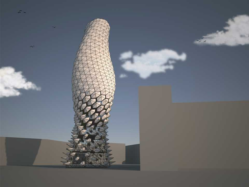 Holcim Awards Next Generation 6th 2014 Europe – Air-Shade: Responsive sustainable shading system, …