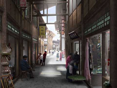 Revitalization and relocation plan for Ghost City