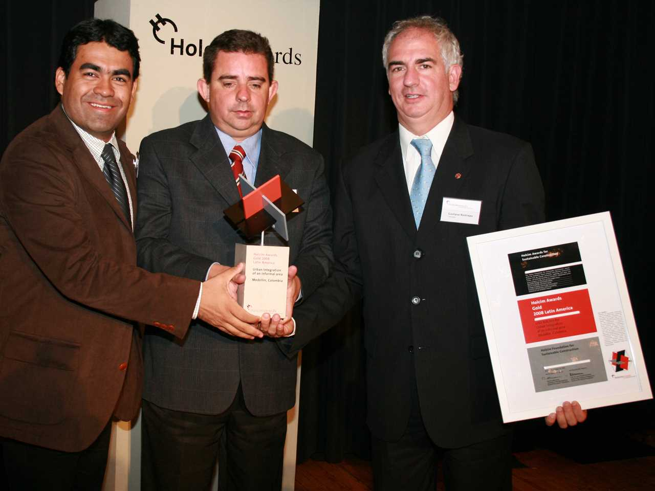 Holcim Awards ceremony for Latin America 2008 – Mexico City, Mexico
